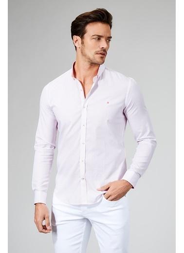 Avva Slim Fit Uzun Kollu Gömlek Pembe